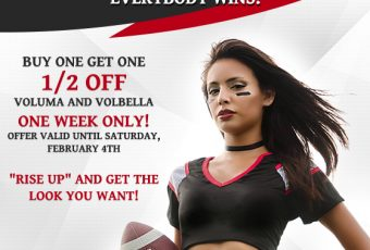 RISE UP with these Super Bowl Specials! One week only!