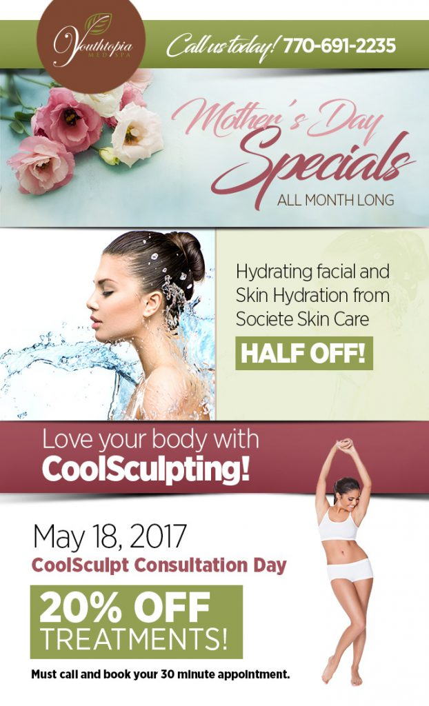 Mother's Day Specials 2017