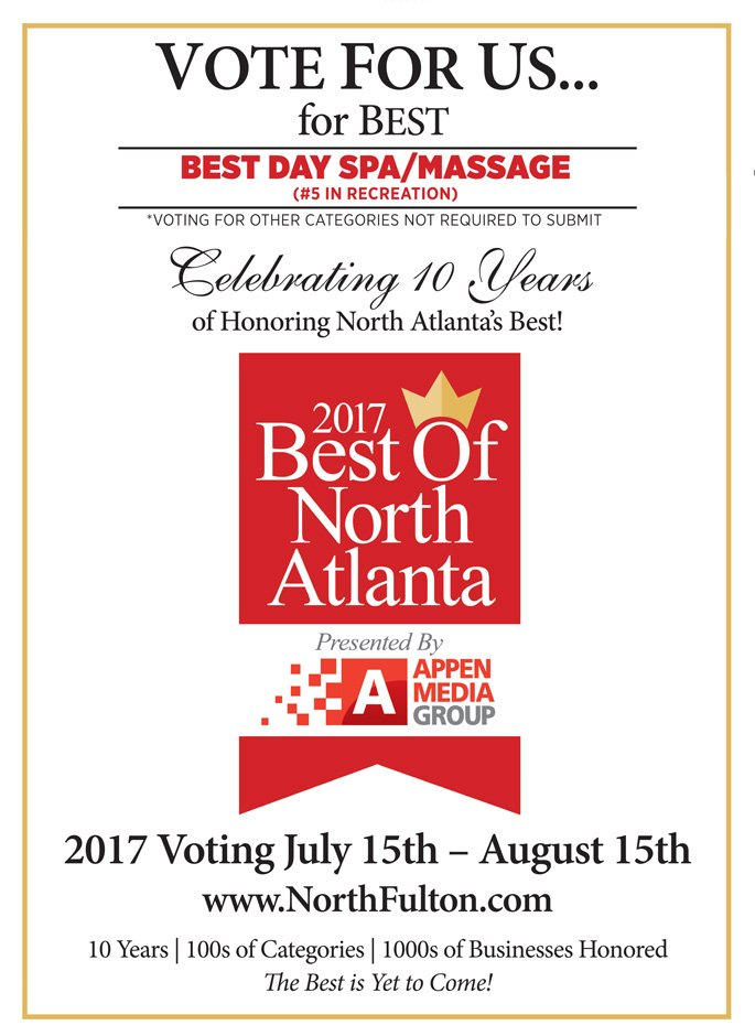 Vote for Us For Best Of North Atlanta!