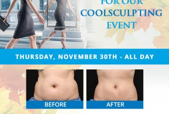 Join Us For Our CoolSculpting Event!